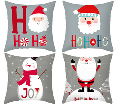 "Santa Claus Avatar Pillow cover,18""4PC,Throw pillowcase,Decorative cushi... - $31.99"