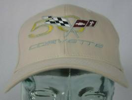 50 Corvette Mens Hat Cap Flexfit Small-Medium Size Stretchable Fit - $19.79