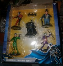 DC Comics Batman Collectible Figurines Box Set [New in Box]* Harley Quin... - $24.70