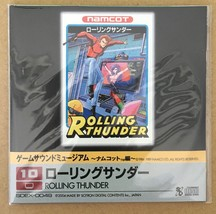 Rolling Thunder Game Sound Museum Famicom Audio CD Japan Import - $29.70