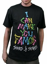 Famous Stars & Straps Black or Purple Fame Bones I Can Make You famous T-Shirt