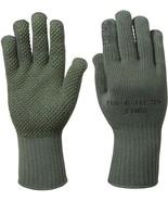 Olive Drab Manzella USMC TS-40 Genuine GI Military Gloves USA Made with NSN - $13.99
