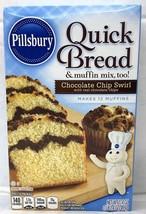 Pillsbury Chocolate Chip Swirl Quick Bread & Muffin Mix 17.4 oz - $5.17