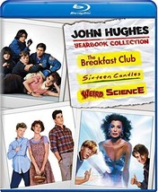 John Hughes Yearbook Collection: Weird Science Breakfast Club 16 Candles Blu-ray