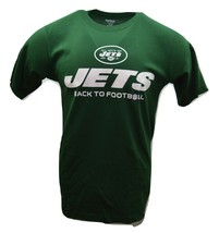 New York Jets Back to Football Green NFL T-Shirt by Reebok - $18.99