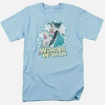 Wonder woman t shirt distressed dc comic book batman superhero cotton tee dco468 thumb200