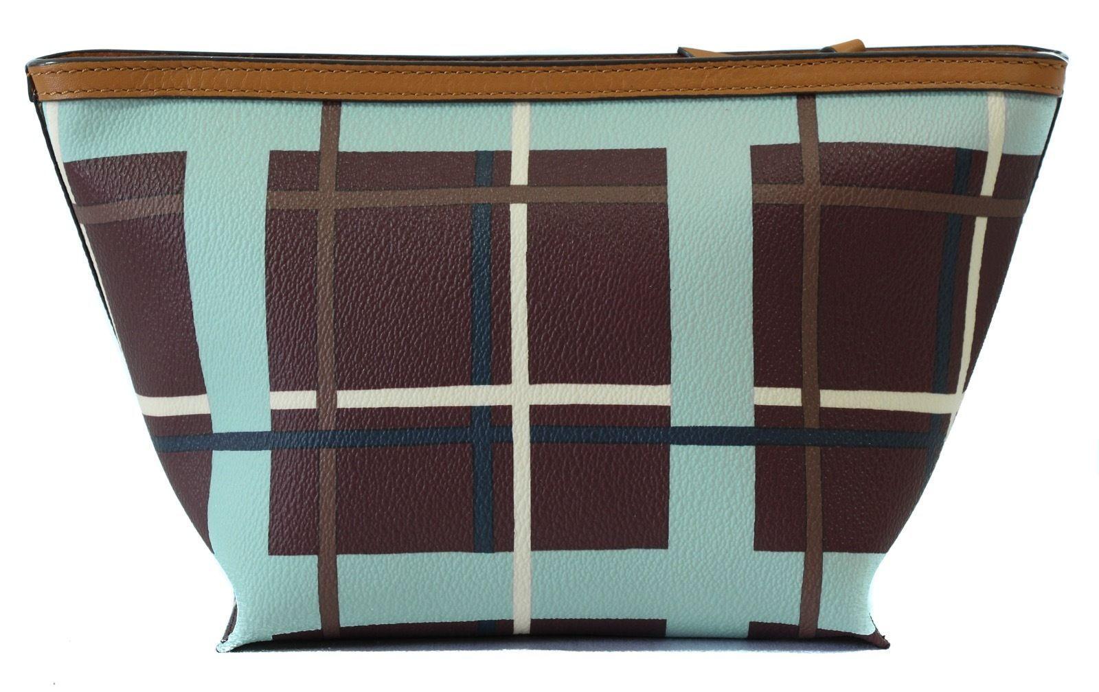 NIB Tory Burch Beach Kerrington Triangle Cosmetic Case Bag
