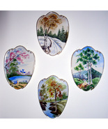 Lefton China 4 Season Plaques   Really nice! - $75.00