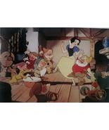 Snow White and the Seven Dwarfs Disney Lithogra... - $19.99