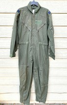 Us Air Force Usaf Nomex Fire Resistant Flight Suit Green CWU-27/P - 42R #5 - $49.50