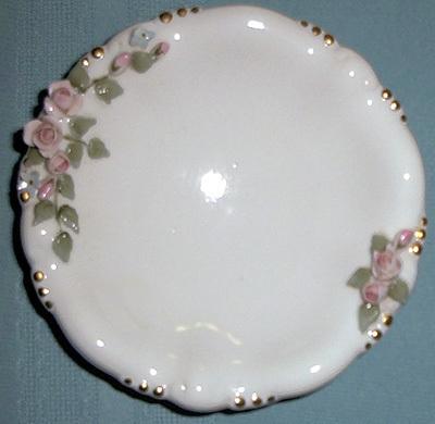 Rose dish ashtray