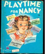 1951 Vintage Wonder Book~Playtime for Nancy - $7.99