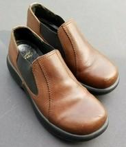 DANSKO Women's Jocelyn Brown Leather Slip On Shoes Clogs Size EU 37 US 6.5-7 - $47.49