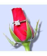 Emerald Diamond Engagement Ring 0.78 Ct E SI2 IGL Cert - $1,678.98
