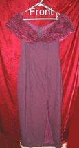 Purple Burgundy Wedding Bridesmaid Prom Dress Gown - $29.99