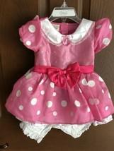 Disney Store Minnie Mouse Costume Toddler Girls XXS 2-3 - $19.75