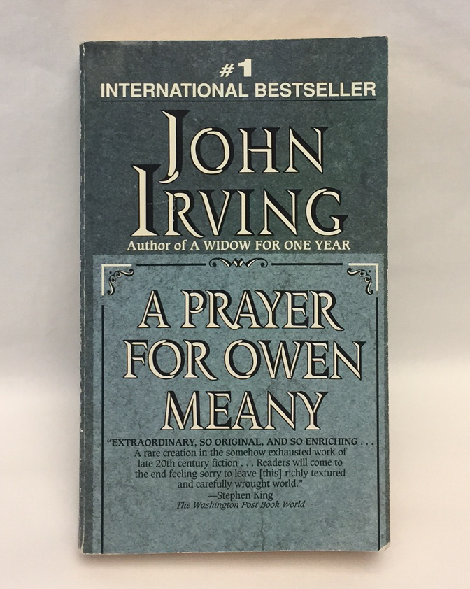PB book A Prayer For Owen Meany by John Irving fiction novel