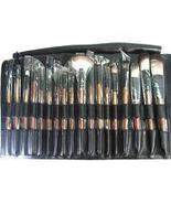 NEW 18 pcs Pro Mineral Goat Hair brushes makeup Set Kit - $27.99