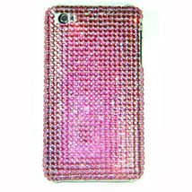 BLING PINK BACK SHELL COVER CASE for iPod Touch 4th 4 - $7.35