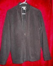 Womens Courtney & Co Fleece Jacket Sweater M - $13.95