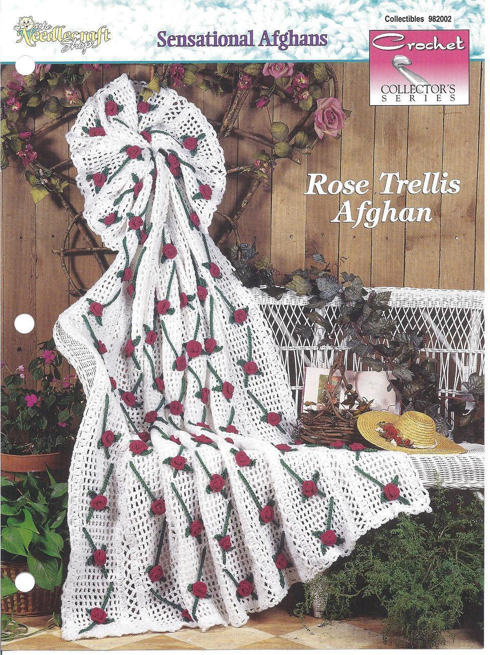 Primary image for Rose Trellis Afghan Crochet Pattern