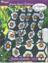 Garden Splendor Afghan~Granny Square Crochet Pattern - $1.99