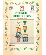 STENCIL HEIRLOOMS CHRISTMAS SERIES DRUMMER BOY PRE-CUT - $2.50