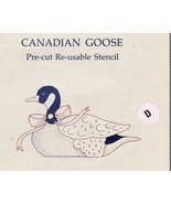CANADIAN GOOSE STENCIL BY MIMI'S THINGS PRE-CUT NEW - $2.50