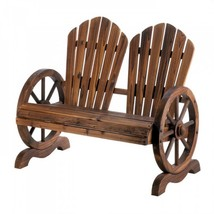 Wagon Wheel Couple Chair - $204.99
