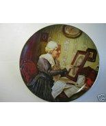 GRANDMAS LOVE Norman Rockwell Collector Plate - $25.00