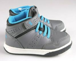 Surprize Von Stride Rite Memory Foam Grau Blau Damarian Hi Top Sneaker Shoes Nwt image 4