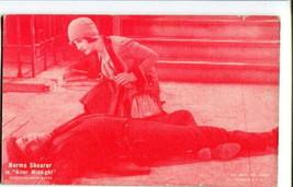 AFTER MIDNIGHT-NORMA SHEARER-1920-Arcade Card G - $21.73