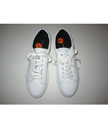 New Womens Shoes Fashion Casual Sneakers 8.5 White Leather Studs Rebecca... - $78.00