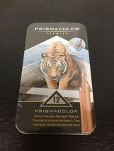 Prismacolor Premier Water Soluble Colored Pencils 12 pack - New Sealed - $11.88