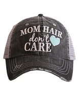 Mom Hair Don't Care Women's Trucker Hats Caps by Katydid - $23.17
