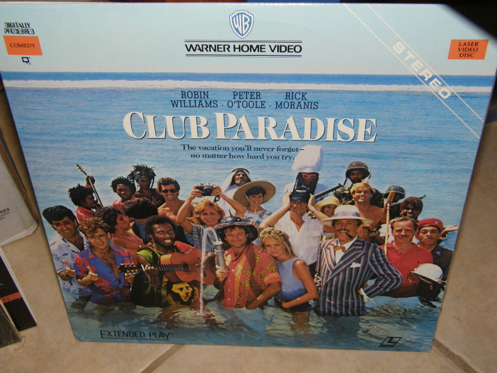 Primary image for Club Paradise (1986) [NTSC/P&S/ANA] [11600 LV] Laserdisc