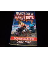Nancy Drew Hardy Boys Mystery 'Double Crossing' - $8.59