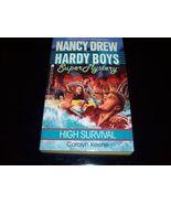 Nancy Drew Hardy Boys Mystery 'High Survival' - $8.59
