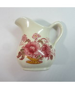 Royal Crownford Staffordshire England Charlotte Multicolor Mini Pitcher ... - $6.99