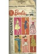 Vintage Barbie Advance Patterns Grp A 1961 Mattel #9938 - $15.95