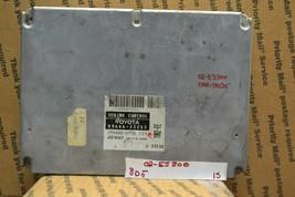2002 Lexus ES300 Engine Control Unit ECU Module 8966633253 15-8D5 - $17.99