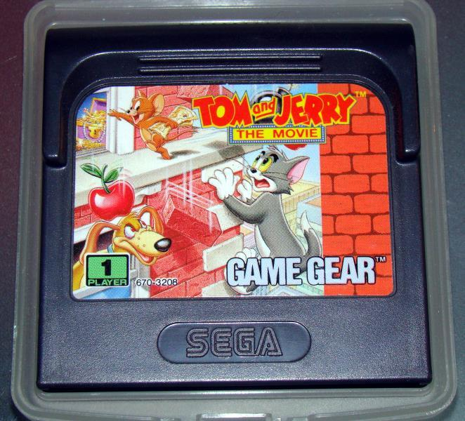 Primary image for SEGA GAME GEAR - TOM and JERRY THE MOVIE