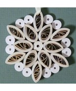 Quilled Snowflake Ornament - $25.00