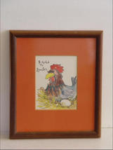 """I Rule the Rooster!"" Framed Print for the Lady of the Ho - $10.99"