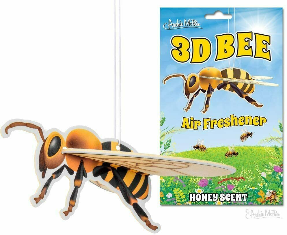 3D Bee Honey Scented Deluxe Air Freshener! - $6.50