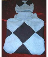 Mens Blue Regal Wear Turtleneck Sweater Shirt Knit Hat - $15.00