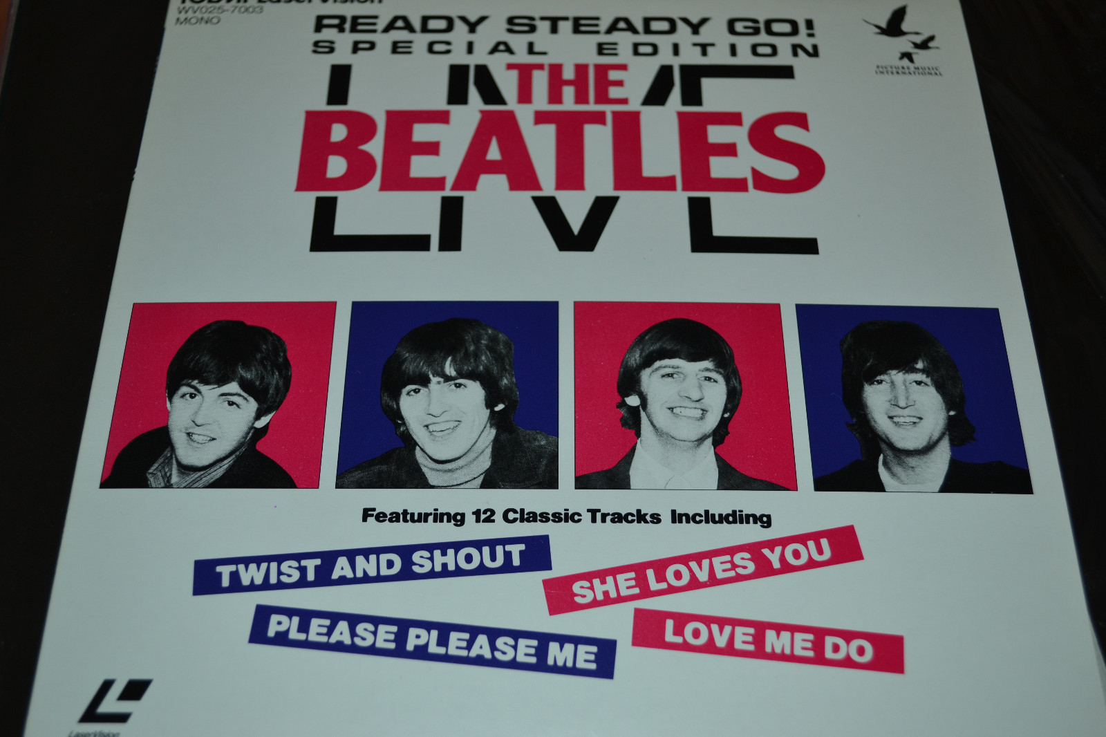 "Primary image for The Beatles: Live - Ready Steady Go (1964) [NTSC/8""/ANA] [WV025-7003] Laserdisc"