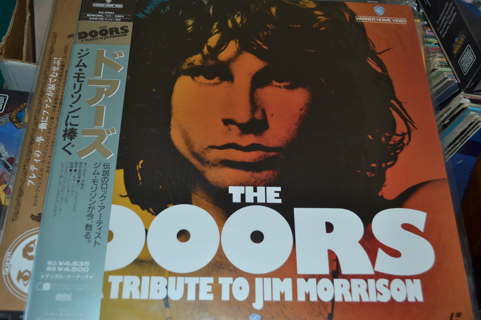 Primary image for The Doors: Tribute to Jim Morrison (1981) [NTSC] [NJL-40254] Laserdisc