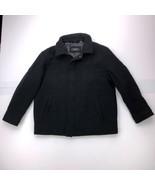 Alfani Men's Large Gray Long Sleeve Full Zip Sweater - $32.65