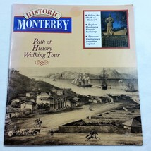 Historic Monterey Path of History Walking Tour 1989 Book Booklet - $29.99